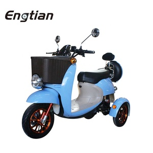 2018 Mini Three Wheels Cheap Electric Tricycle Bike Passenger for europe