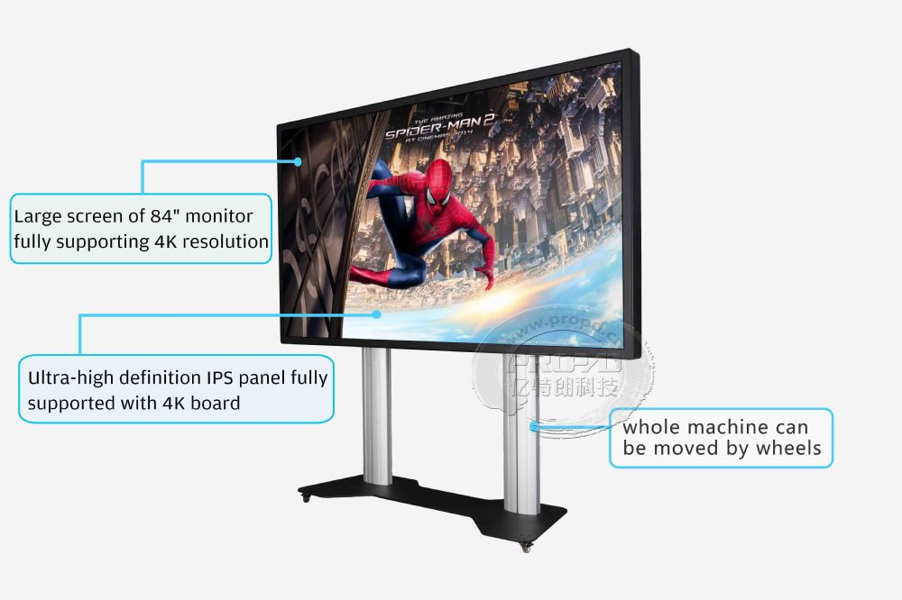Best products for import 86 inch Original LG 4K UHD touch curve screen monitor 32768*32768
