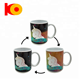 The Pony Design Heat Reveal Mug Color Change Coffee Cup Sensitive