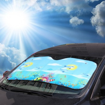 štitnik za staklo od sunca pomaže da se vozilo ne pregreje