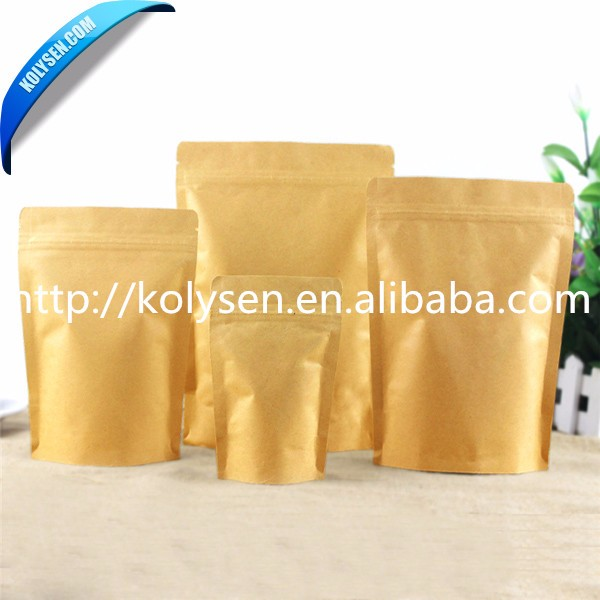 Factory fast delivery zipper bag with bottom for food <strong>packing</strong>