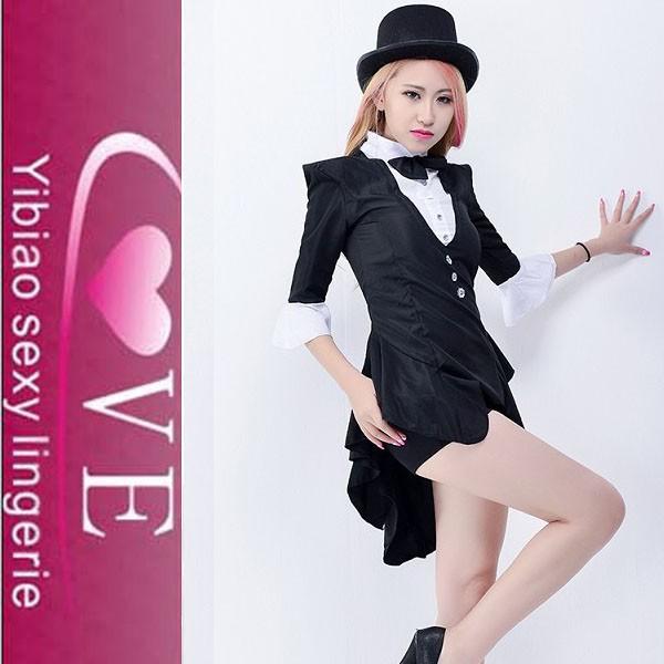2015 nueva llegada traje negro de el mago traje de danza jazz trajes de  disfraces sexy 212a9856532