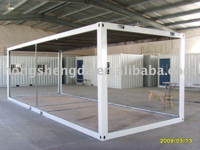 wohnung verpackt 20 meter versand rahmen container haus rahmen zum verkauf fertighaus produkt. Black Bedroom Furniture Sets. Home Design Ideas