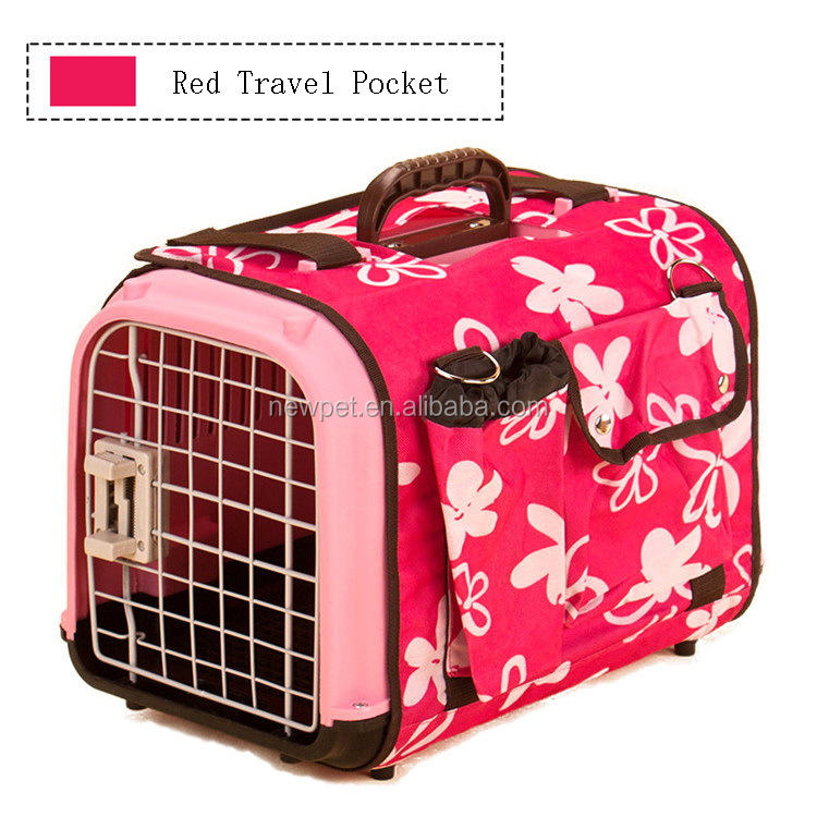 Excellent quality hot sell u style pet air box top level cute pet bag carrier with travel pocket