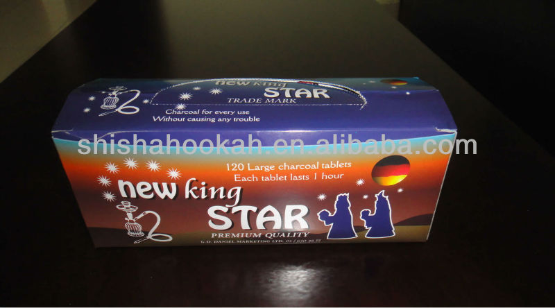 new king star shisha charcoal 35mm