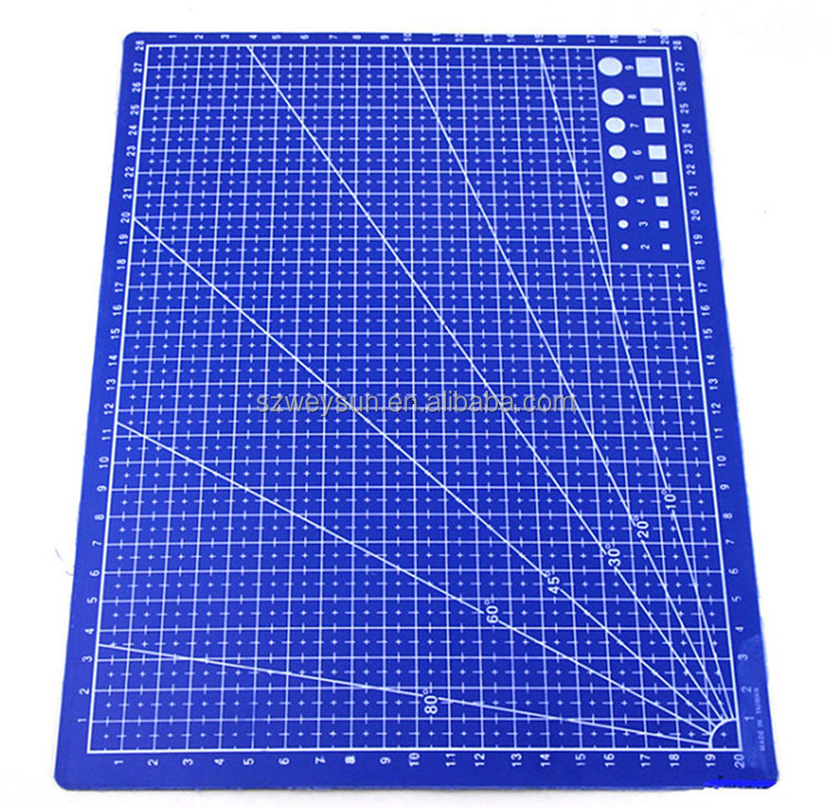 Wholesale A4 Grid Lines Self Healing Cutting Mat Craft Card Fabric ...