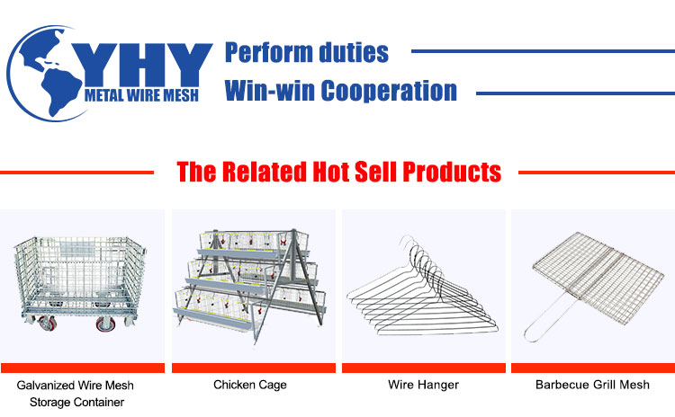 rectangle stainless steel wire mesh shopping basket