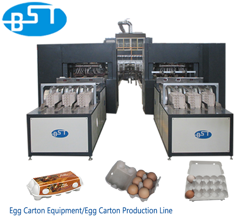 EC5400 Best Selling Recycled Waste Paper Egg Carton Making Machine