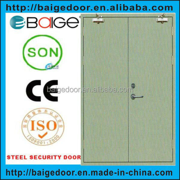 BG-F9042 90 Min Double Steel Fire Rated Door