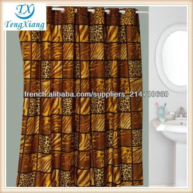 rideaux de style anglais rideau de douche-Rideau de douche-ID de ...
