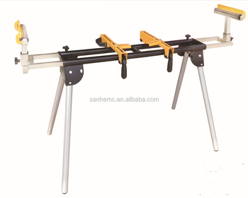 Folding And Sliding Woodworking Clamps Or Mitre Saw Stand For Sale