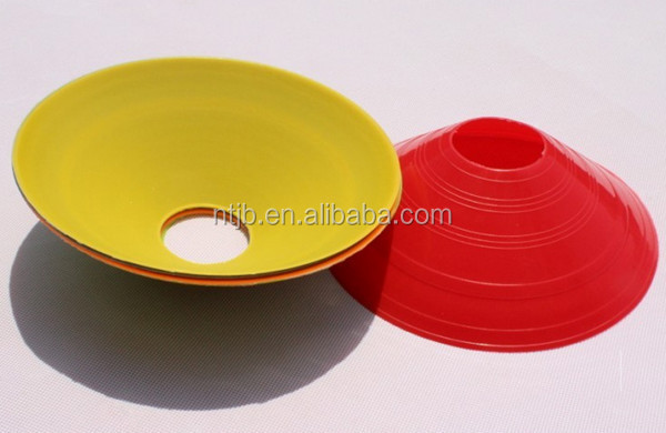 Football Sign Dish Plate Soccer Training Cones equipment