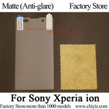 Matte Anti-glare Screen Protector Guard Cover protective Film For Sony Xperia ion LT28 LT28i LT28at LT28h