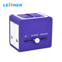 Portable fast phone charger usb power universal travel adapter
