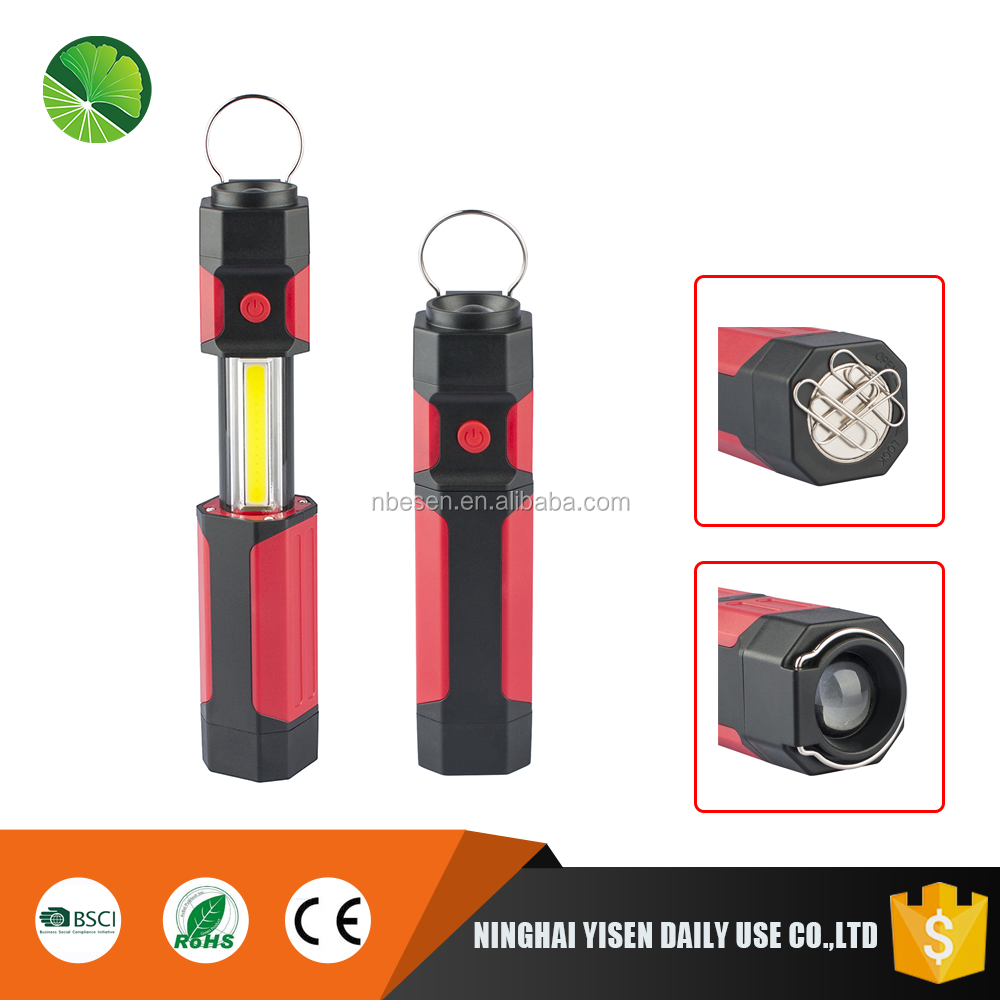 Outdoor Camping 3W Super Bright Portable Magnetic Base Led Work Lights