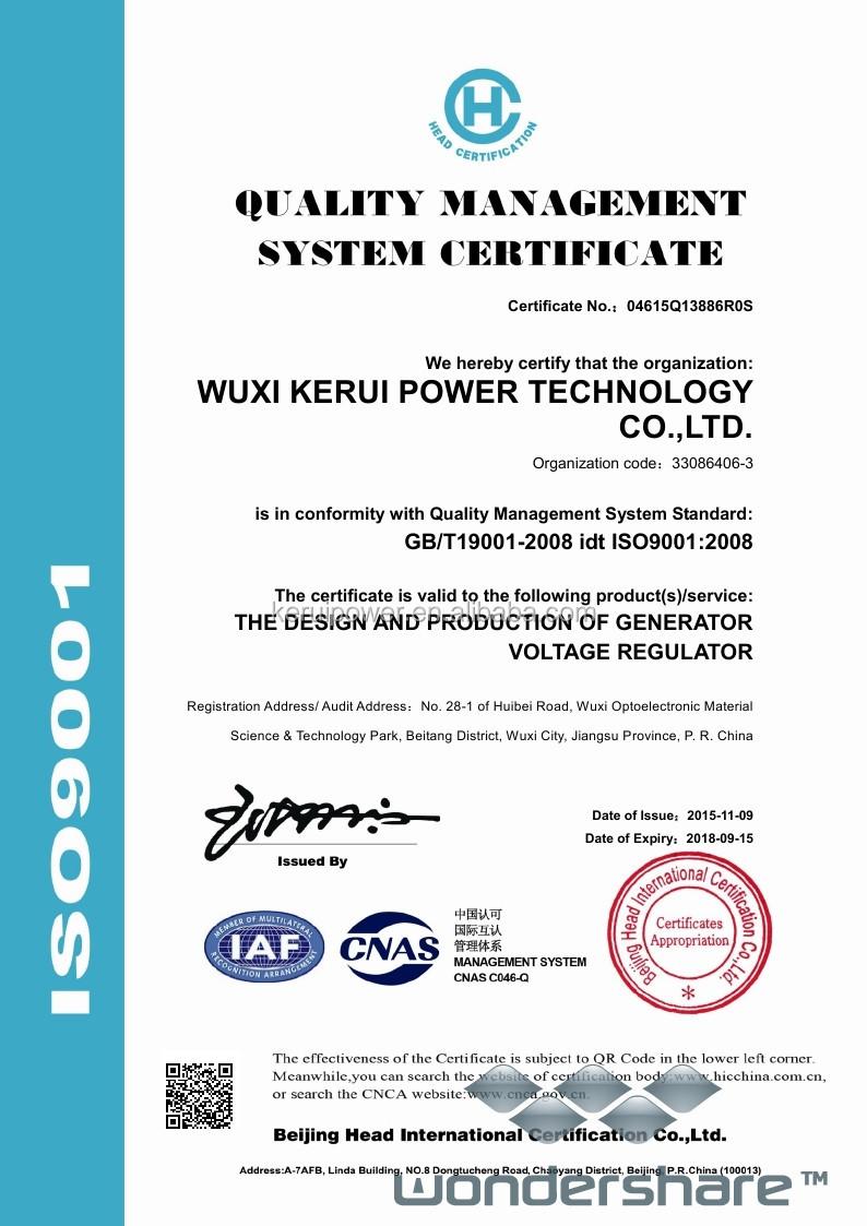 Universal Avr As440 For Generator Set