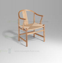 Triumph Hans Wegner PP56 Dining Chair/ Hans Wegner Wood Ding Chair/Rope Rattan Willow Dining Chair