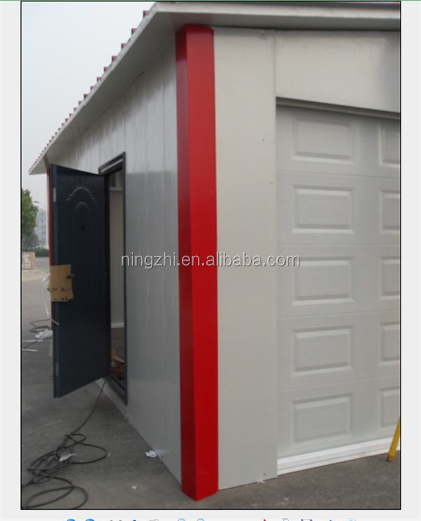Attractive Sandwich Panel Steel Structure House As Garage