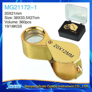 Golden Mini Diamond Eye Loupe 20X MG21172-1