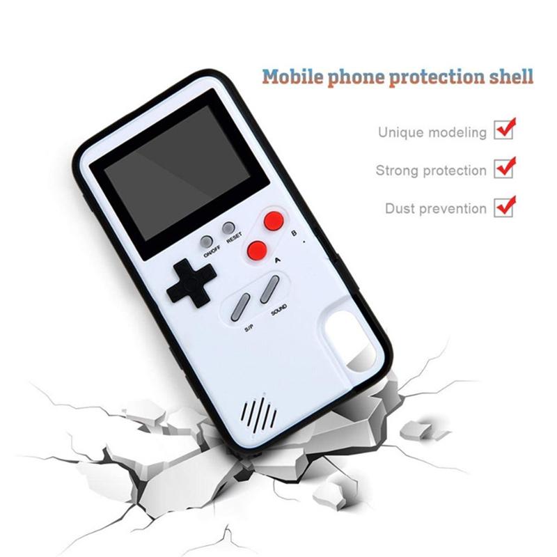 36 ชนิดโทรศัพท์กรณีเกม Gameboy ที่สามารถเล่นได้คอนโซลฝาครอบโทรศัพท์มือถือสำหรับ samsung s20,huawei 20, 30 pro,huawei mate 20