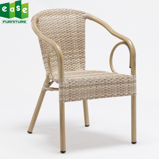 China Factory Personalized Outdoor Antique Rattan Chairs For Restaurant