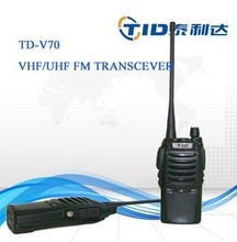vhf 136-174mhz uhf 400-470mhz 5w handheld two way radio low power fm radio transmitter
