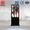 Hotsale 55 inch high brightness floor stand wifi flat screen tv for advertising