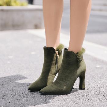 2018 New Style Block High Heel Women