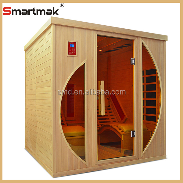 Luxury two person infrared king of sauna room