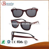 Round Shape Eco-friendly Natural Zebra Wood Sun Glasses Woman and Man Polarized UV400 Wooden Sunglasses Wholesale