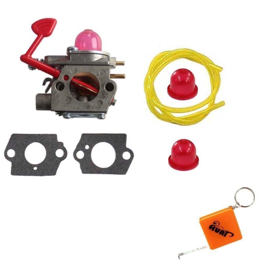 Get Quotations · HURI Carburetor Fuel Line for Poulan Craftsman BVM200VS  PPB430VS VS2000BV BVM200C Blower 545081855