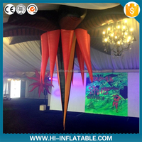giant events decoration led light inflatable flower
