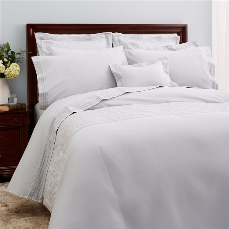 luxury hotel bedding sethotel bed linecotton white bedding set