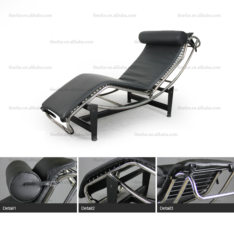 Lc4 Lounge Chair Le Corbusier Chaise Lounge Chair French