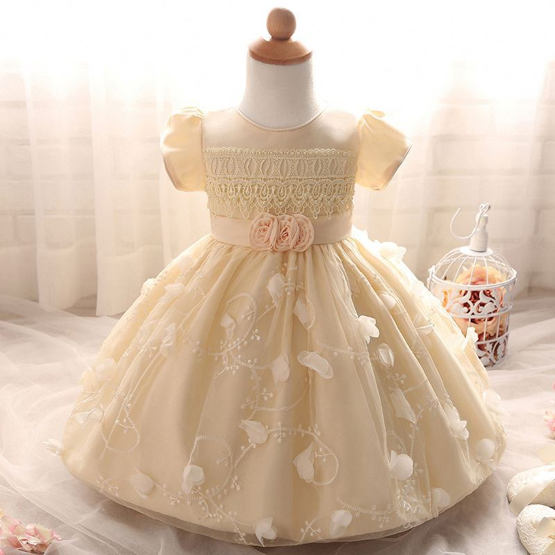 kids wedding dresses unique communion new frock style 2017 fashion design baby party flower girl dress tulle