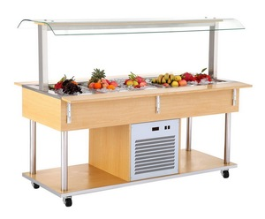 sushi equipment China counter top display cooler cabinet/ sushi refrigerator showcase/ sushi bar