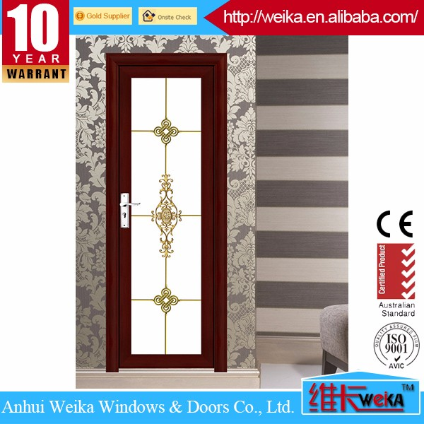 quality aluminum bathroom door, bath room door design
