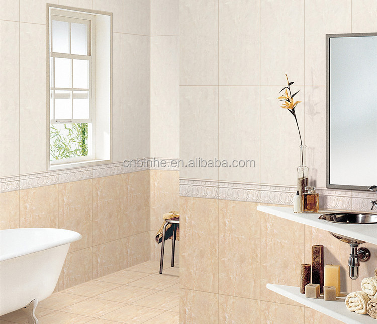 Latest Design 30x60 Bathroom Ceramic Wall Tiles Mainly For Indian