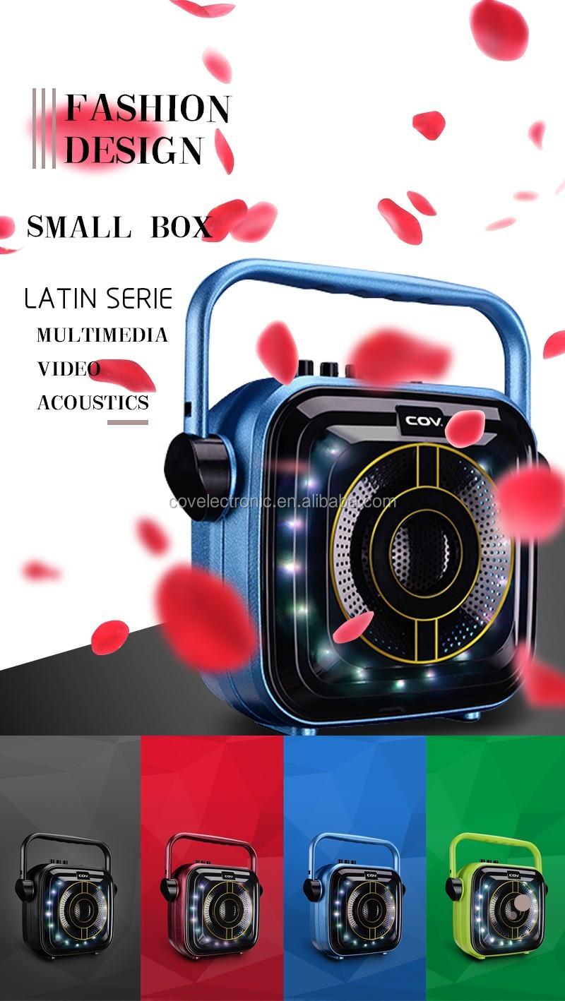 480k - Loa bluetooth karaoke CV352 có đèn led tặng kèm micro có dây hát cực hay giá sỉ và lẻ rẻ nhất