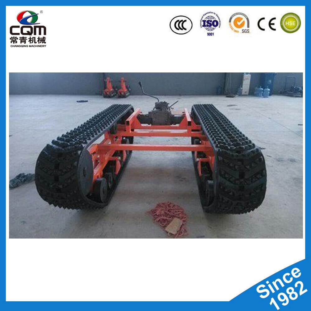 Excavator Bulldozer Undercarriage Parts Rubber Track