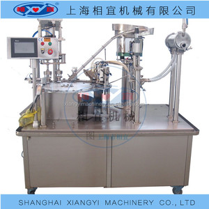 Baby juice pouch filling machines/ice cream spout pouch filling machine