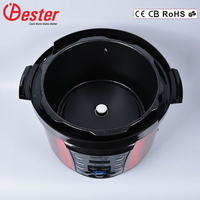 3L Multi-Functional Electric Pressure Cooker With Temperature Control