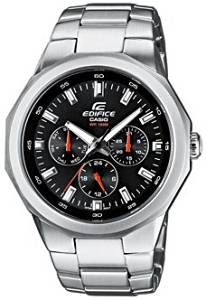 Casio #EF332D-1AV Men's Edifice Multi Function 3 Dial Display Sports Watch