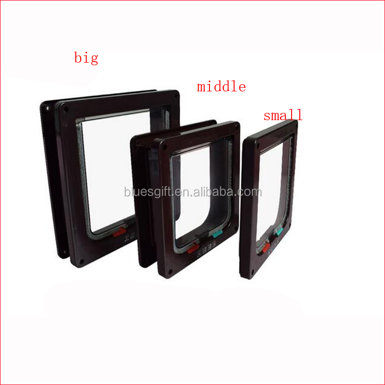 2017 Hot selling ABS plastic Hot selling Dog cat door cat flap