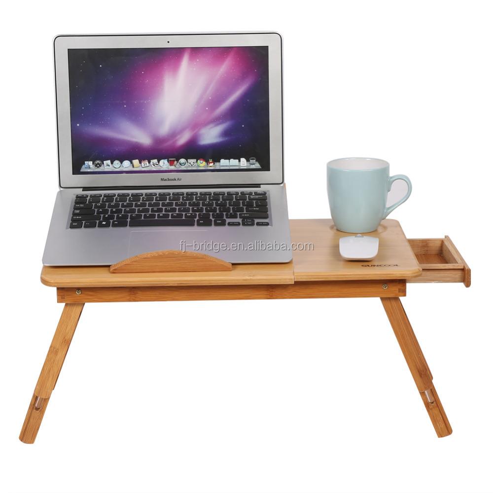 Fashion Portable Folding Bamboo Laptop