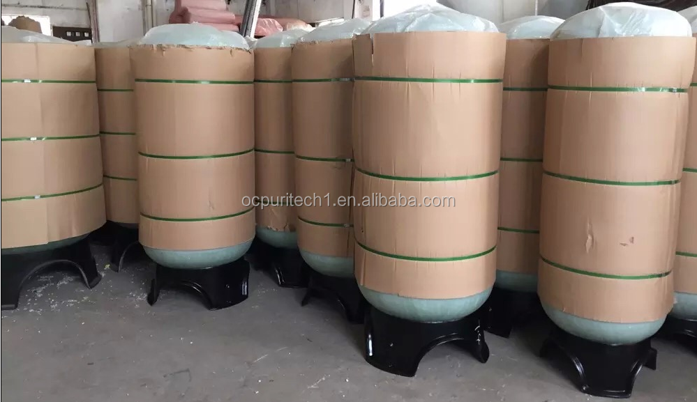 High quality water filtration FRP water pressure tank with economic price