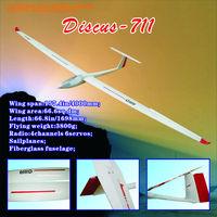 Sailplames Discus-711 L037 4m Glider Airplane