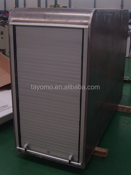 Stainless Steel Roller Shutter Generator Container Cargo