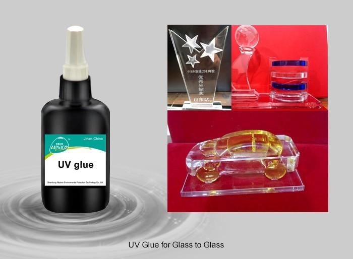الأشعة فوق البنفسجية 201c- زجاج واضح زجاج الغراء الترابط uv الغراء لاصق