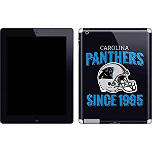 NFL Carolina Panthers New iPad Skin - Carolina Panthers Helmet Vinyl Decal Skin For Your New iPad